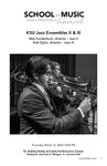 KSU Jazz Ensembles II & III by Wes Funderburk and Rob Opitz