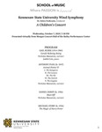 A Children's Concert: Kennesaw State University Wind Symphony by Debra Traficante, Nicholas Massaroni, and Judith Cole