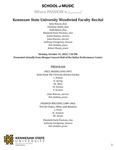 KSU Woodwind Faculty Recital