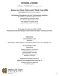 Kennesaw State University Wind Ensemble by David Kehler