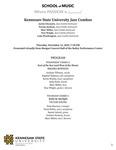 Kennesaw State University Jazz Combos by Trey Wright, Justin Chesarek, Tyrone Jackson, Marc Miller, and Luke Weathington