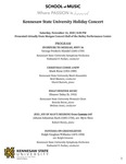 Kennesaw State University Holiday Concert
