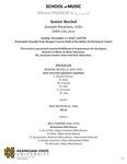 Senior Recital: Jeavanie Desarmes, violin by Jeavanie Desarmes and Judith Cole