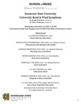 Kennesaw State University Wind Symphony & University Band