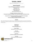 Junior Recital: Kevin Worley, jazz saxophone by Kevin Worley, Melodie Fort, Zach Wilson, Rodrigo Suárez, Dave Worley, and Dennis Durrett-Smith
