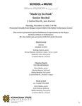 Senior Recital: J. Carlos Diaz H., jazz drumset by J. Carlos Diaz H.