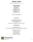 Faculty Recital: Charae Krueger, cello; Robert Henry, piano; Helen Kim, violin by Charae Krueger, Robert Henry, Helen Kim, Laurence Sherr, John Warren, and John Lawless