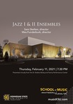 Jazz I & II Ensembles by director and Wes Funderburk
