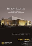 Senior Recital: Andrew Lim by Andrew Lim and Eric Jenkins