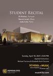 Student Recital: Eli Rickles & Naomi Israel