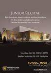 Junior Recital: Blue Goodman