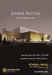 Junior Recital: Sammy Mishkin