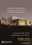Senior Recital: Zachary Leinberger
