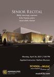 Senior Recital: Molly Jennings by Molly Jennings, Erika Tazawa, and Jessica Bell