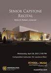 Senior Capstone Recital: Nolan Rodack by Nolan D. Rodack
