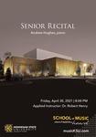 Senior Recital: Andrew Hughes by Andrew Hughes