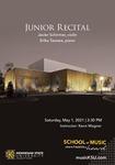 Junior Recital: Javier Schirmer