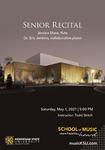 Senior Recital: Jessica Shaw by Jessica Shaw