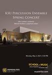 KSU Percussion Ensemble Spring Concert by John Lawless and Michael Stubbart