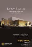 Junior Recital: Daniel Barket