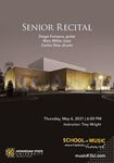 Senior Recital: Diego Fonseca by Diego Fonseca, Marc Miller, and Carlos Diaz