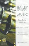 Student Recital - Brandon Lau