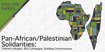Call For Papers - Pan-African Palestinian Solidarities