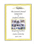 2002 - The Seventh Annual Symposium of Student Scholars