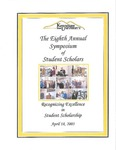 2003 - The Eighth Annual Symposium of Student Scholars