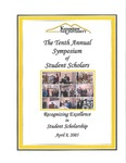 2005 - The Tenth Annual Symposium of Student Scholars