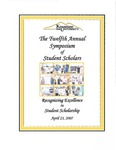 2007 - The Twelfth Annual Symposium of Student Scholars