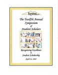 2007 - The Twelfth Annual Symposium of Student Scholars