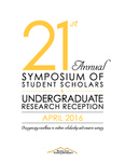 2016 - The Twenty-first Annual Symposium of Student Scholars