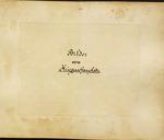 Theodor Ziegler Photo Scrapbook [page 115 Section Title Page: Bilder vom Kriegsschanplantz] by Theodor Ziegler, John Alan Ziegler, and Nancy Nuckles Colyar