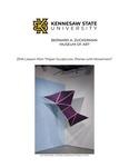 Paper Sculptures: Planes with Movement by Elizabeth Adams Thomas
